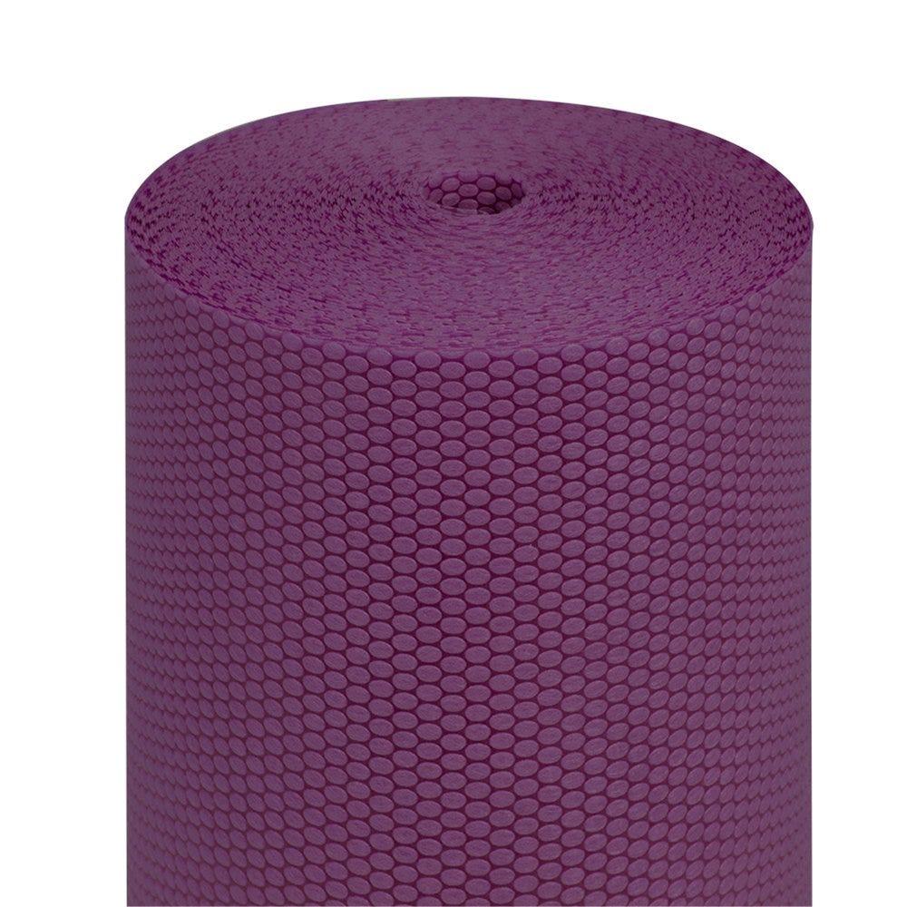 Tête à tête pré-découpé en 120cm polypropylène épais violet 0,40x36m - par 6