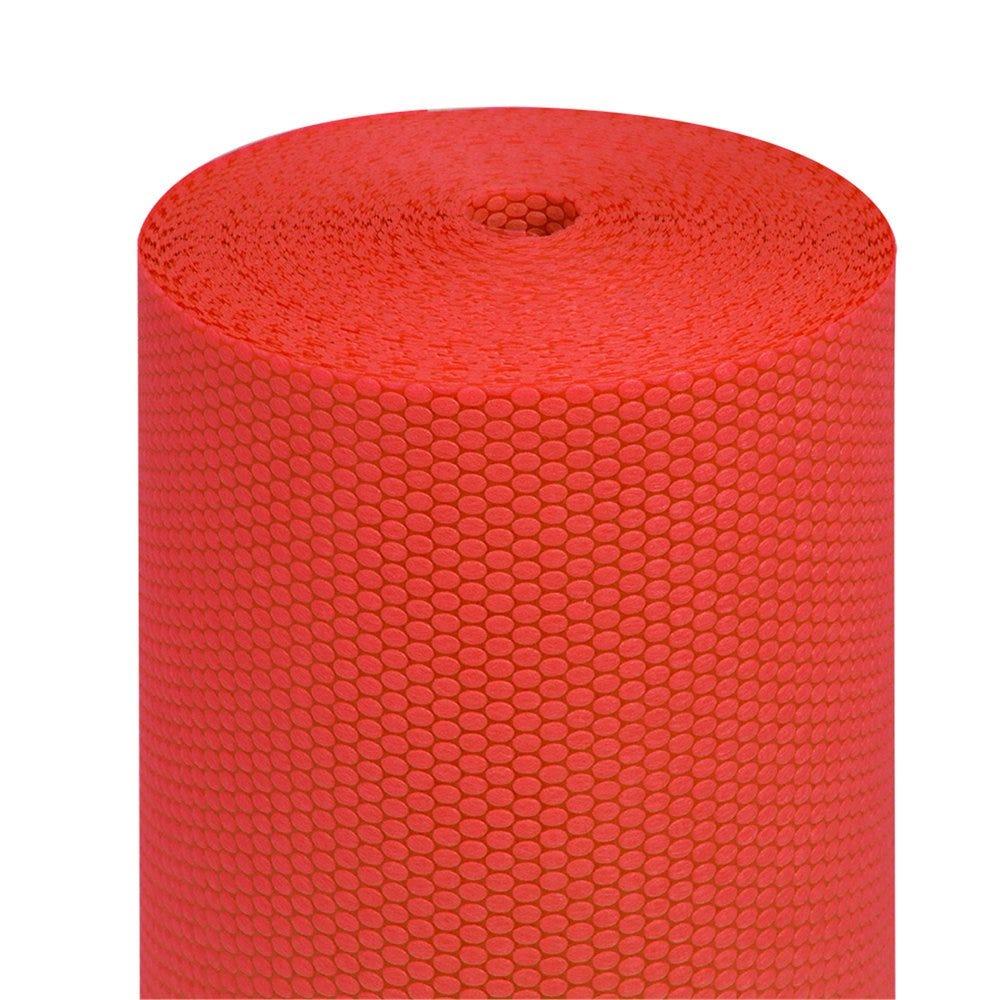 Tête à tête pré-découpé en 120cm polypropylène épais rouge 0,40x36m - par 6