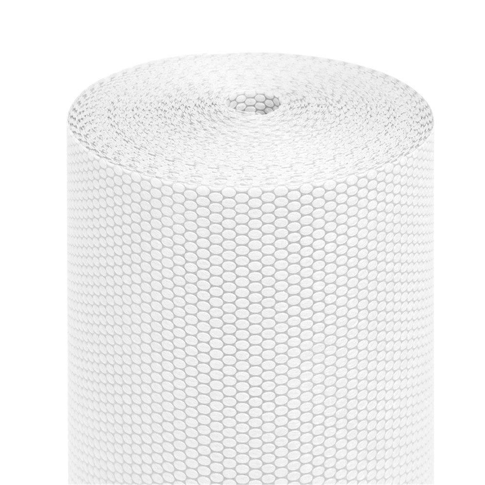 Tête à tête pré-découpé en 120cm polypropylène épais blanc  0,40x36m - par 6