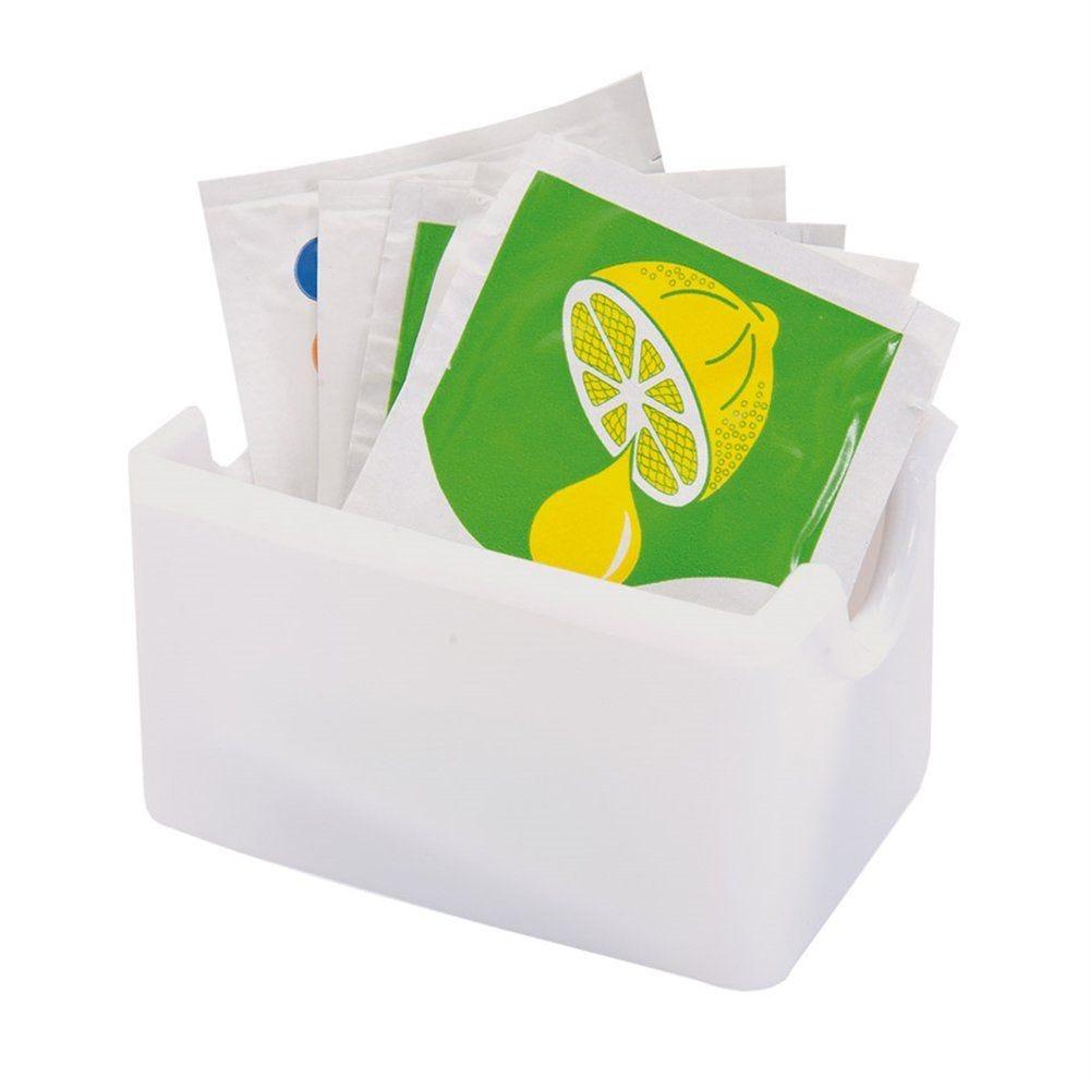 Bac multi-usages 8,5x6,5x5cm polystyrène blanc (photo)
