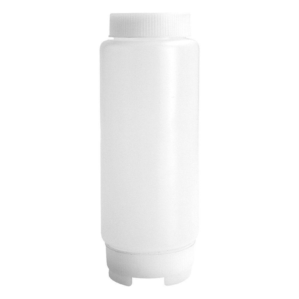 Flacon à sauces avec couvercle 720ml polyéthylène transparent - par 24