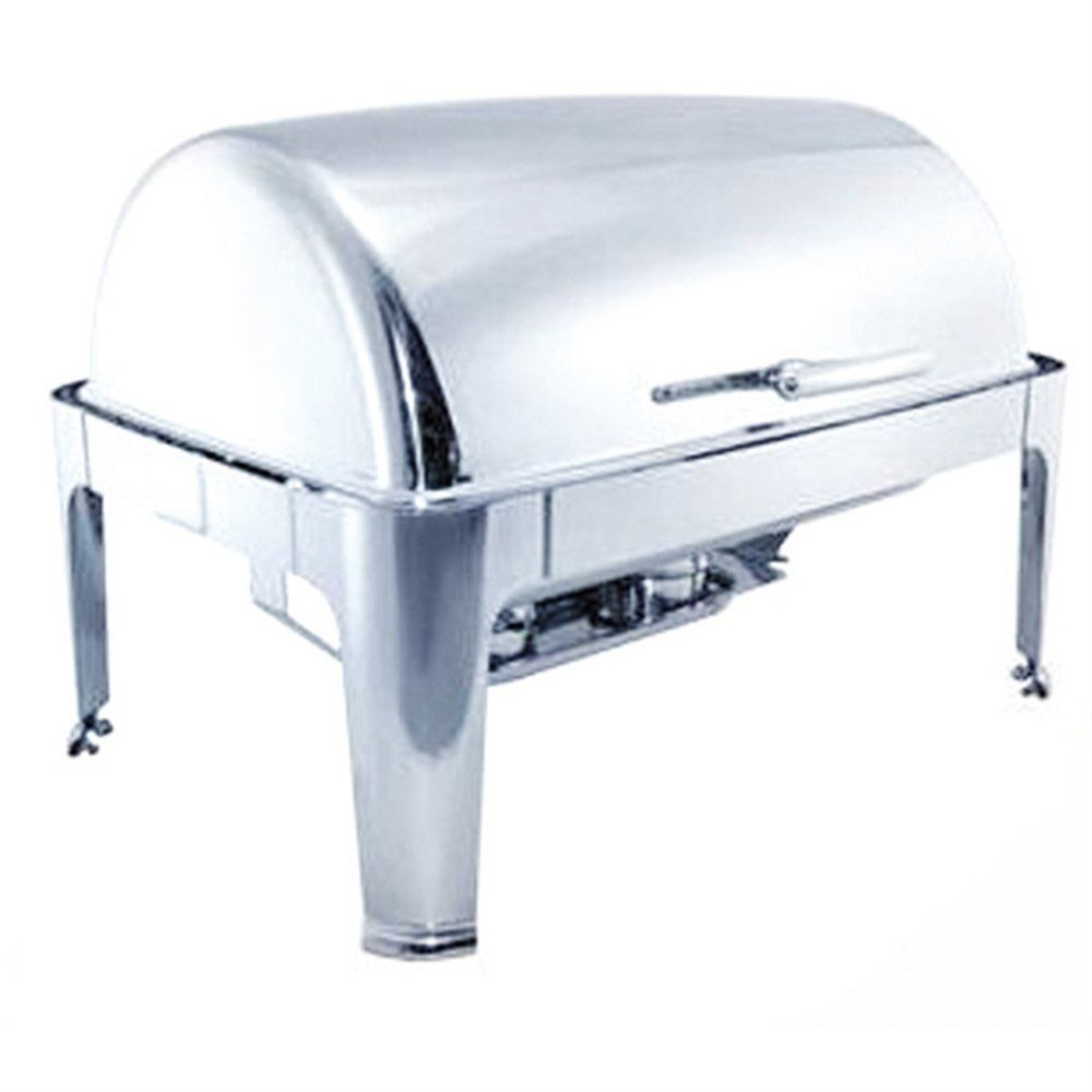Chafing dish gastronorme en inox 1/1 9 litres 64x48,5x44cm