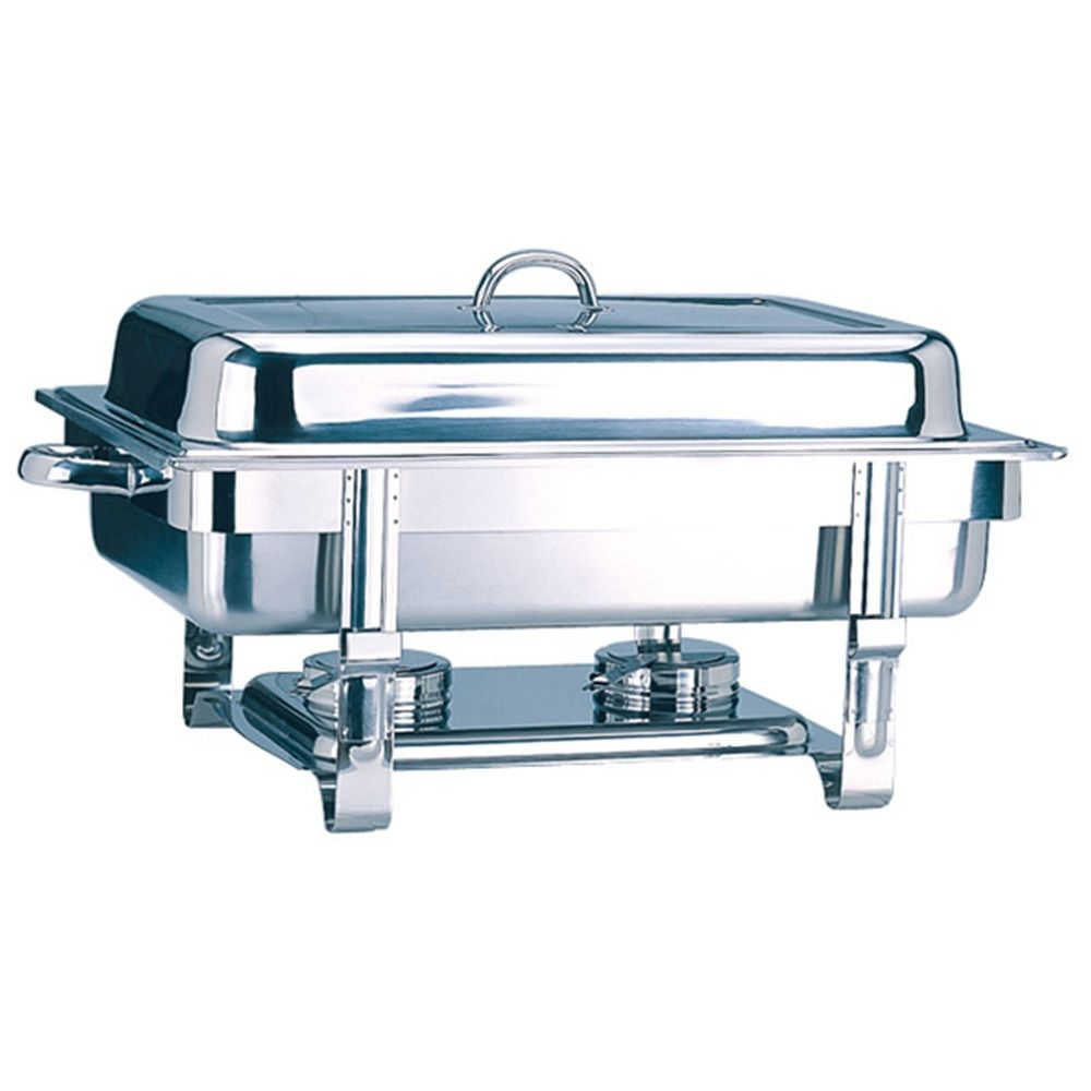 Chafing dish gastronorme 1/1 9 litres inox 63x35,5x27,3cm