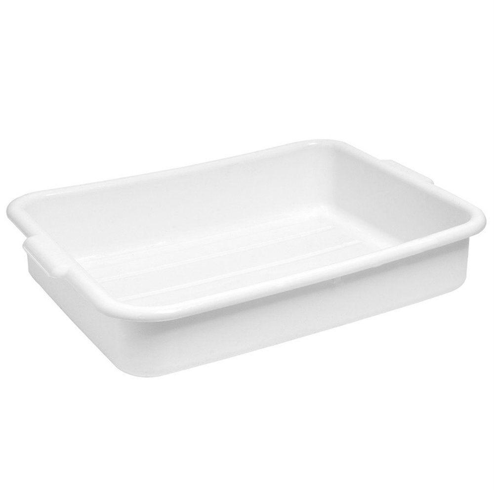 Bac alimentaire multi-usage 54x39x12,7cm blanc
