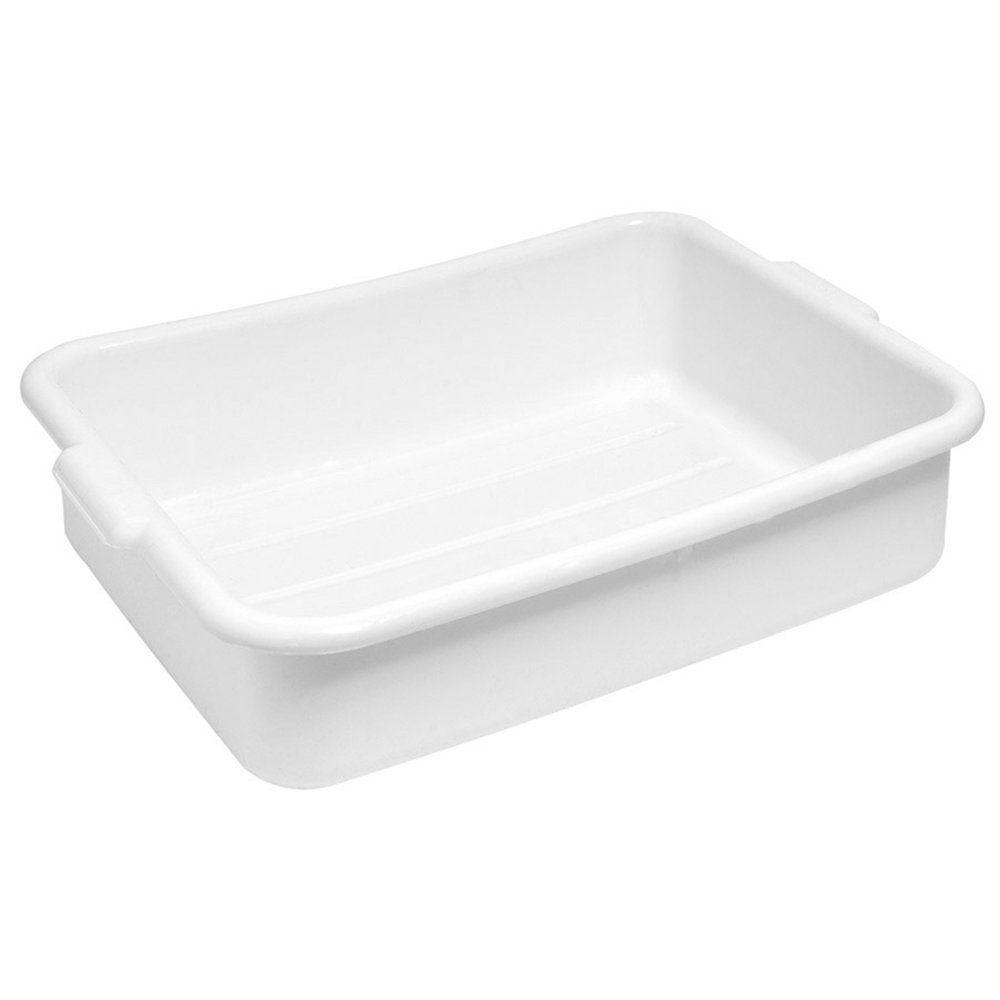 Bac alimentaire multi-usage 54x39x18,5cm blanc