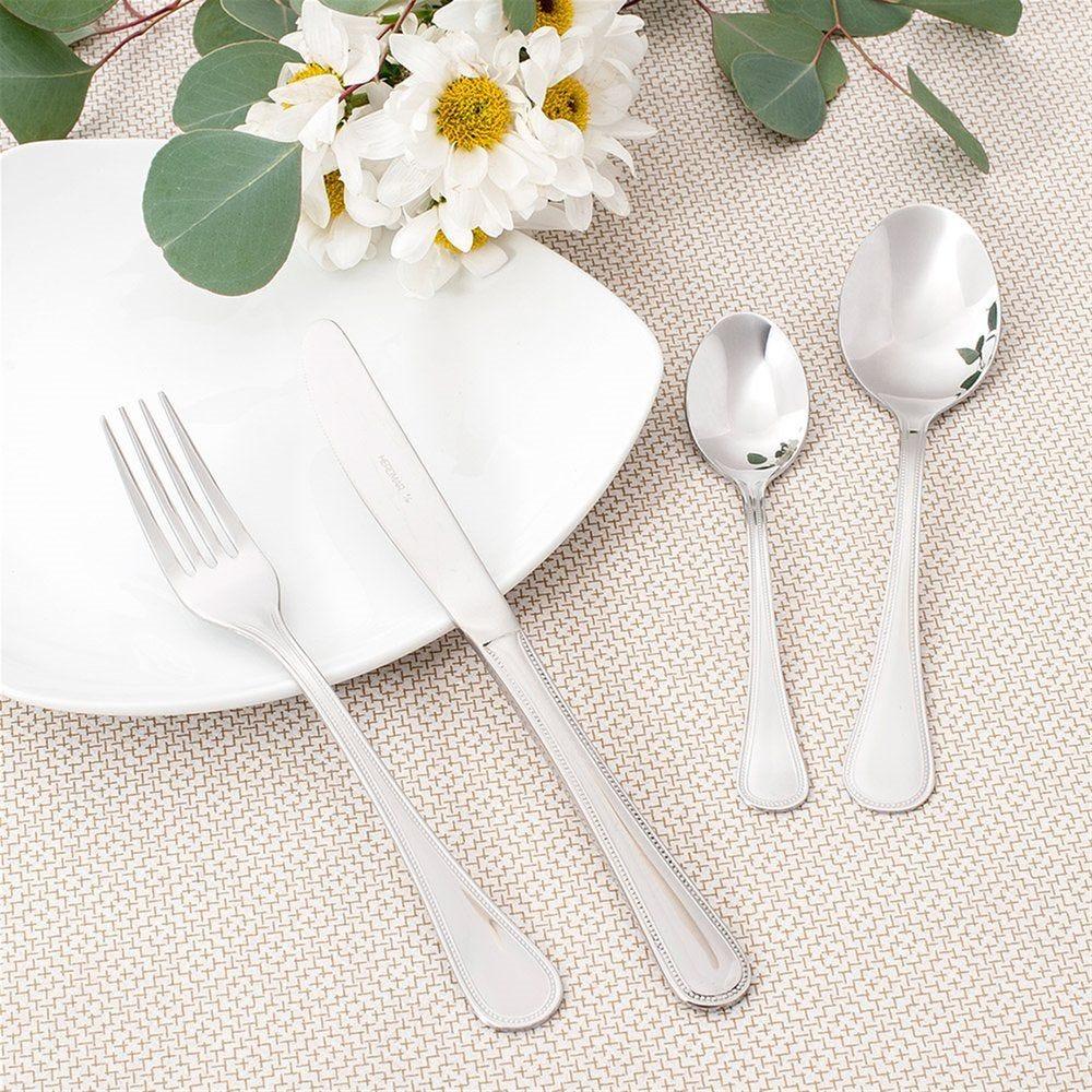 Fourchettes à dessert Sevilla 15cm acier argent - par 12