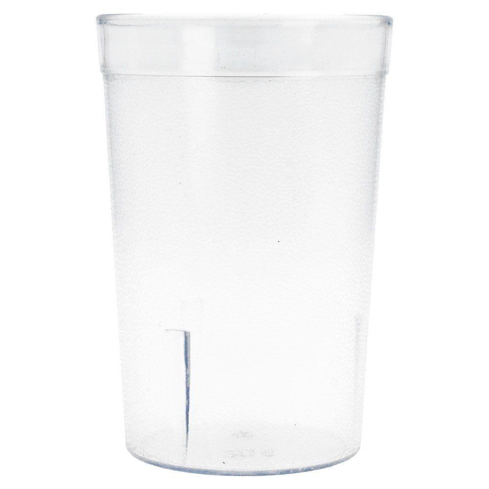 Gobelet réutilisable transparent 240ml Ø6,2x9,9cm - par 12