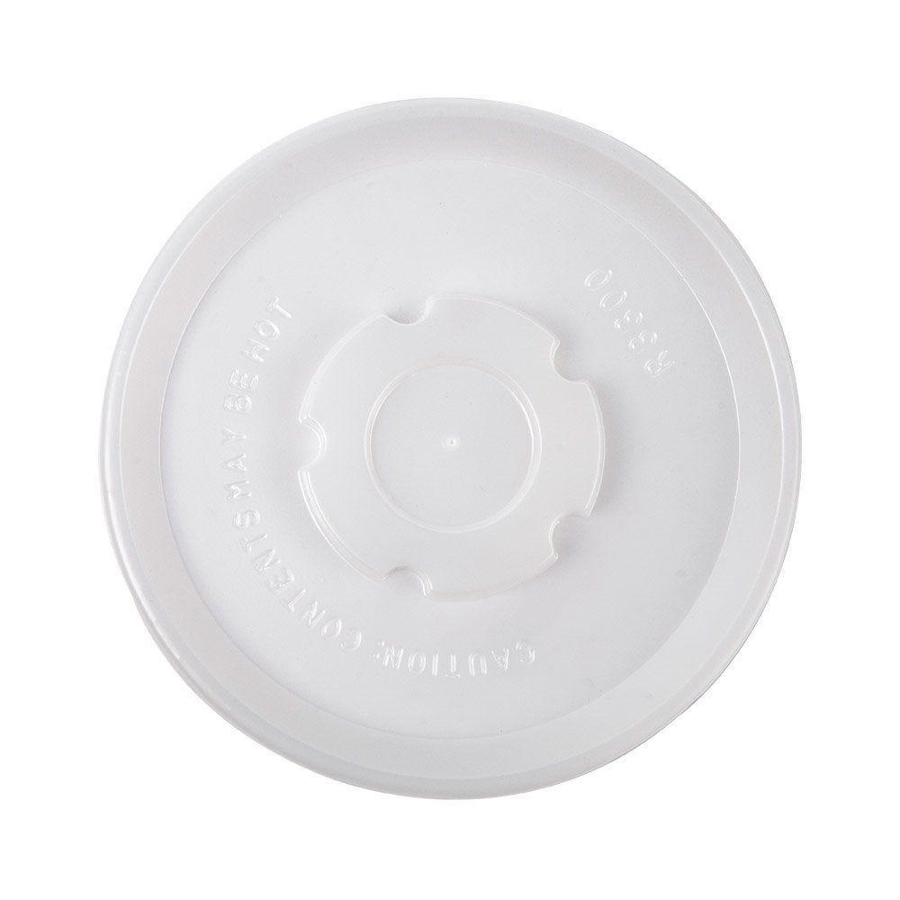 Couvercle PS pour pot à glace 500ml Ø11cm - par 100