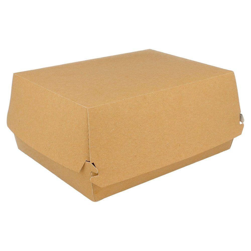 Boîte kebab carton Kraft 20,5x16x8.5cm - par 50