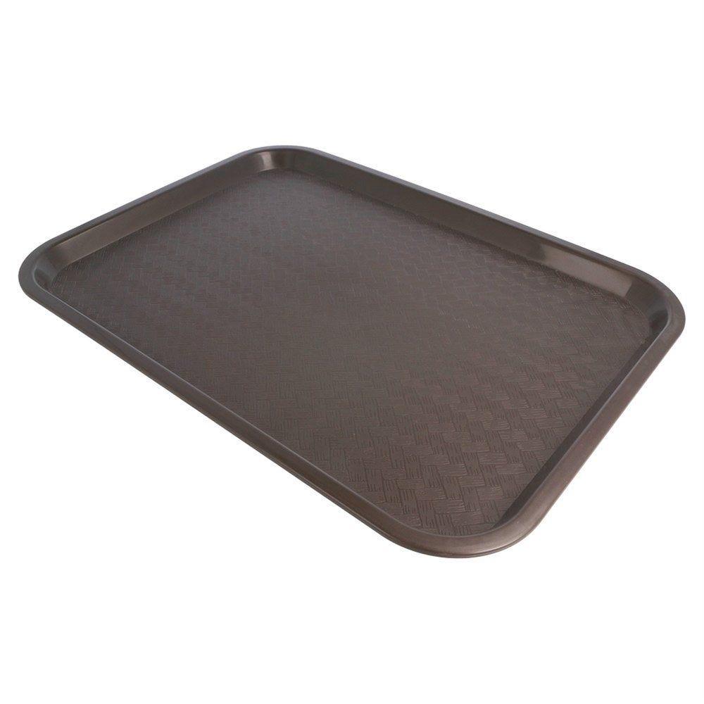 Plateau fast food chocolat 30,4x41,4cm
