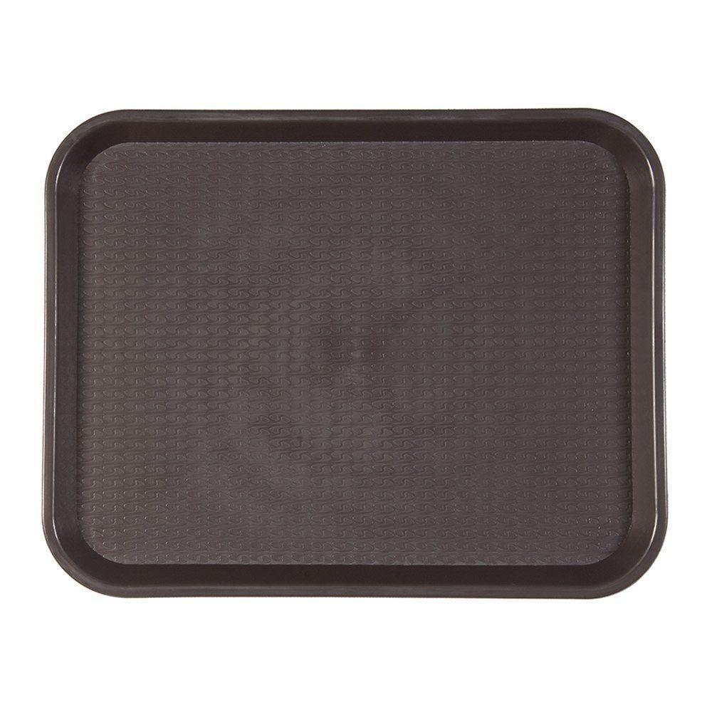 Plateau fast food chocolat 35,5x45,3cm