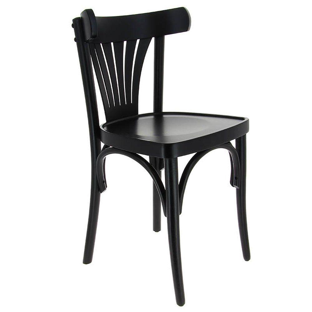 Chaise new orleans noir - par 2