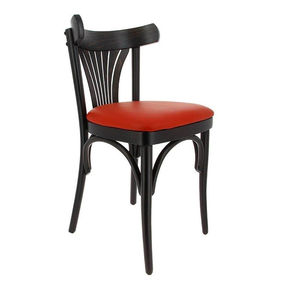 Chaise new orleans rouge - par 2