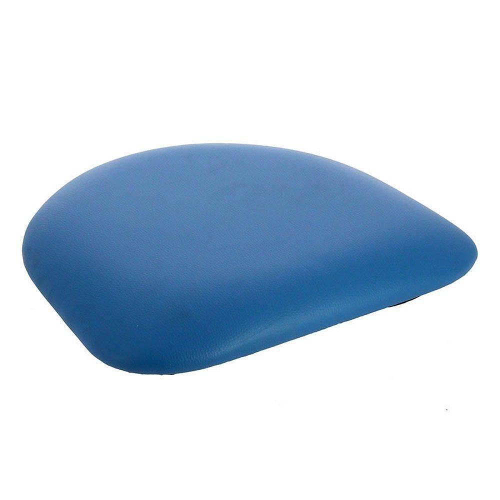 Assise simili bleu pour chaise colisee