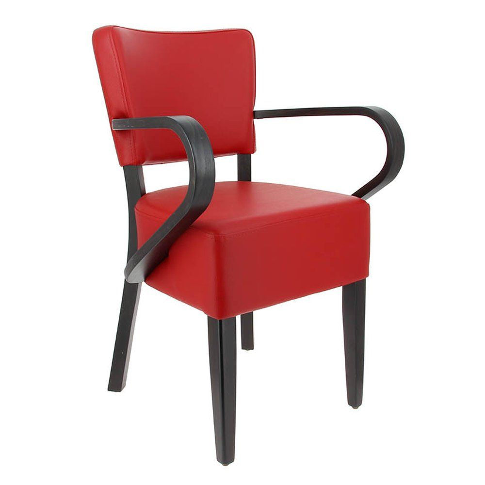 Fauteuil amsterdam rouge