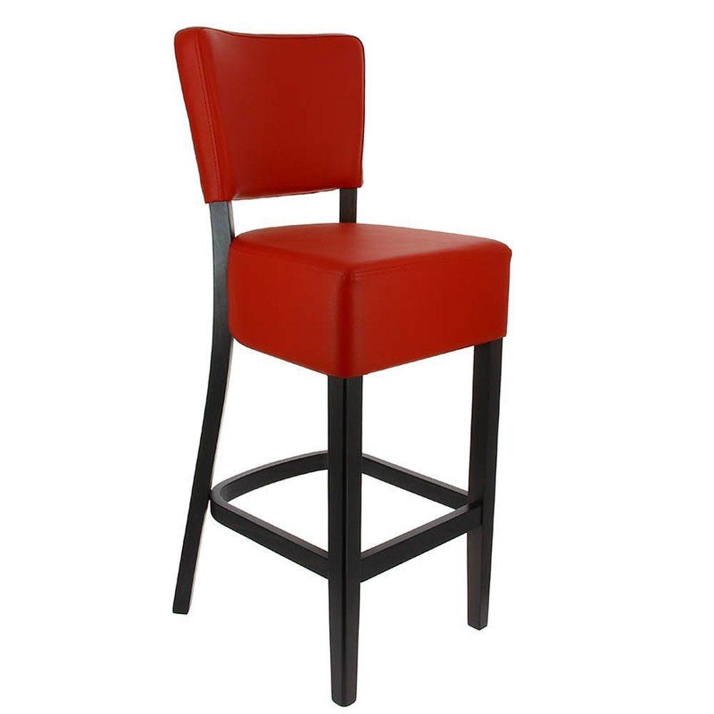 Chaise haute amsterdam rouge