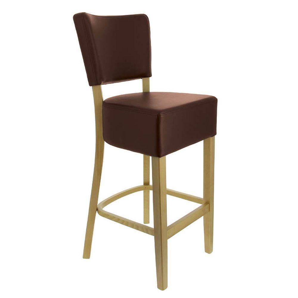 Chaise haute amsterdam marron