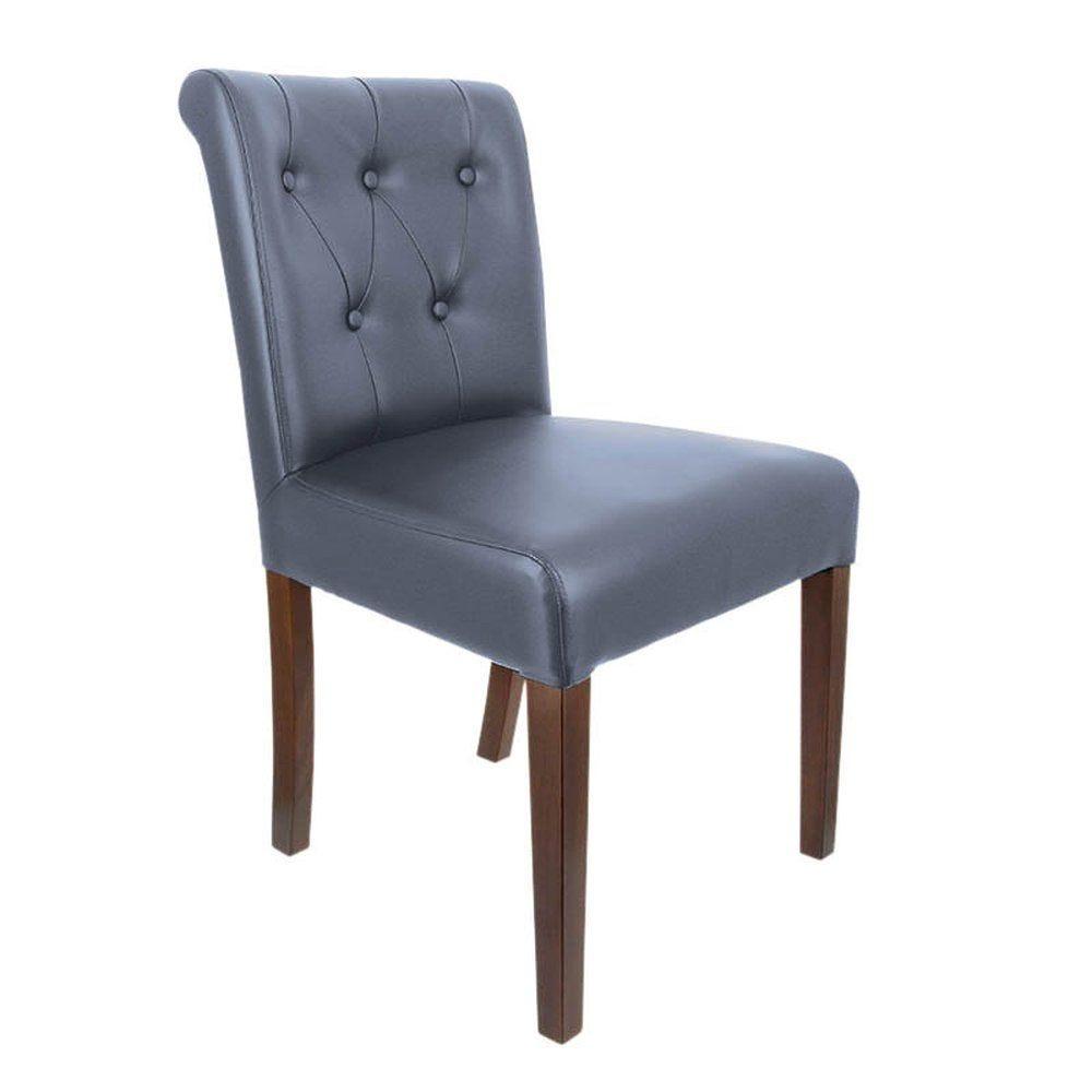 Chaise etoile gris - par 2