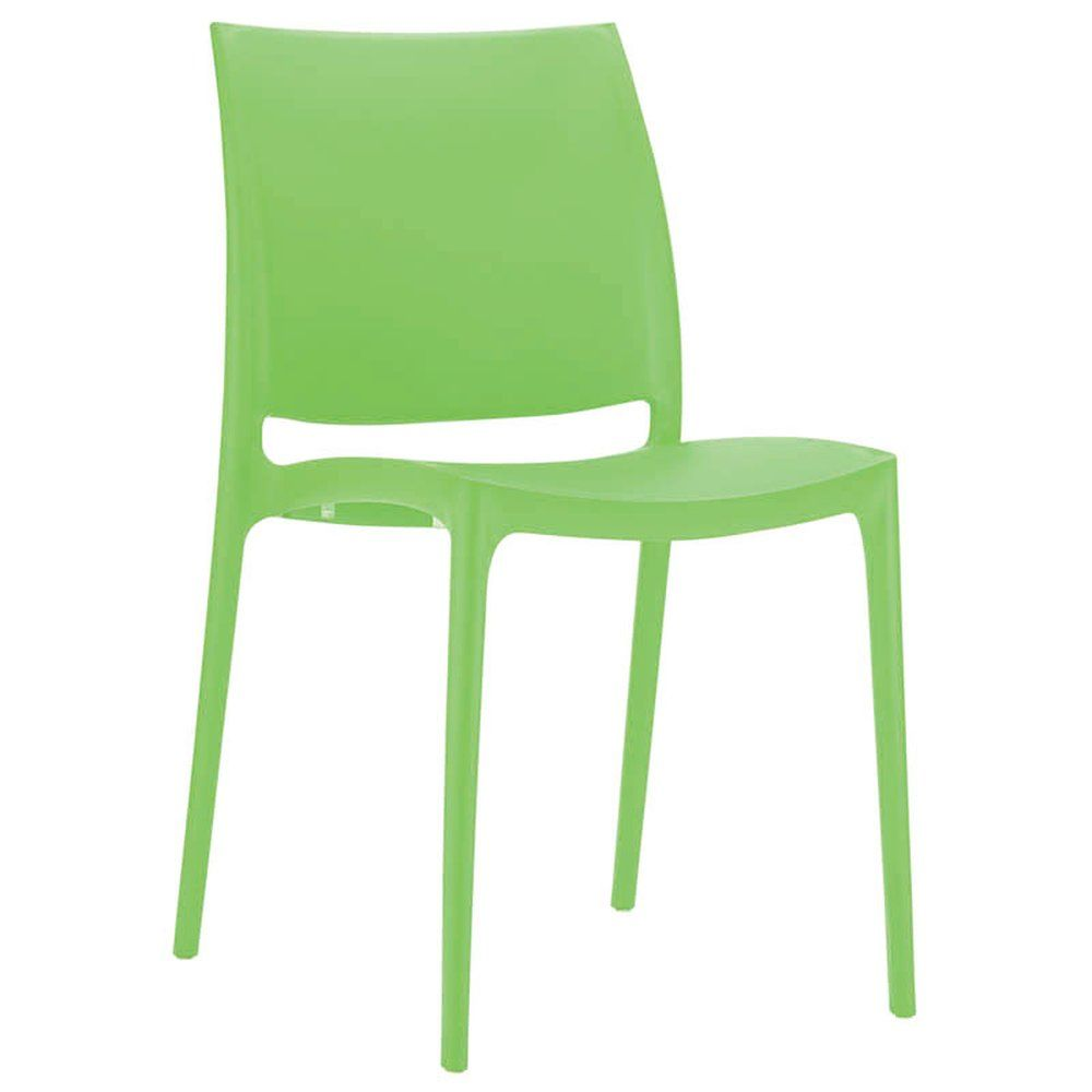 Chaise inca vert