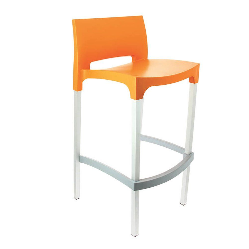 Tabouret gio orange