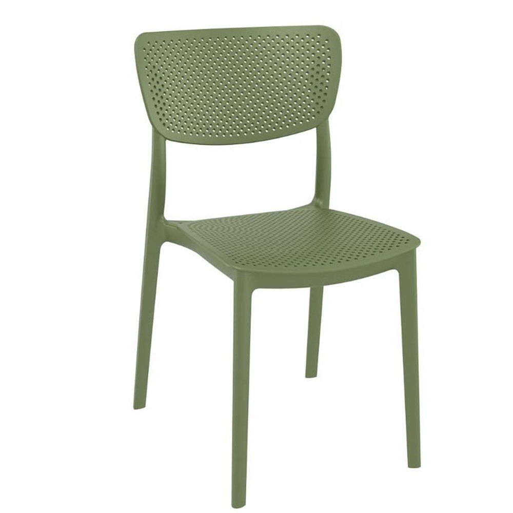 Chaise lucy vert olive