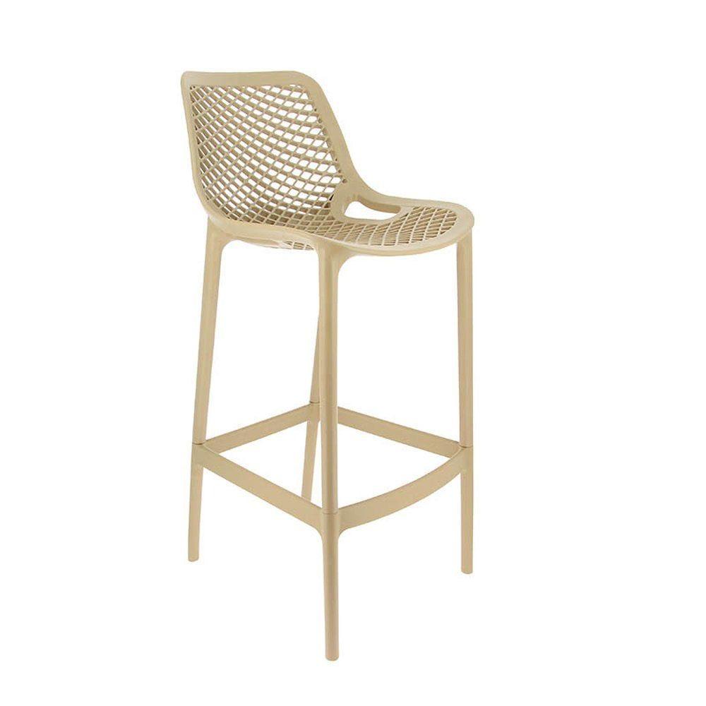 Chaise haute air taupe