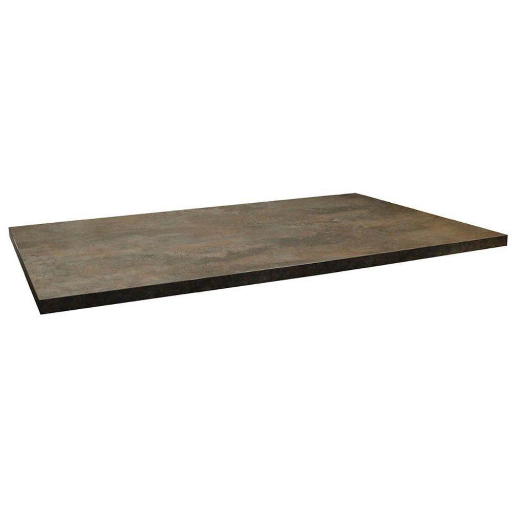 Plateau de table tavola 110x70cm caldera