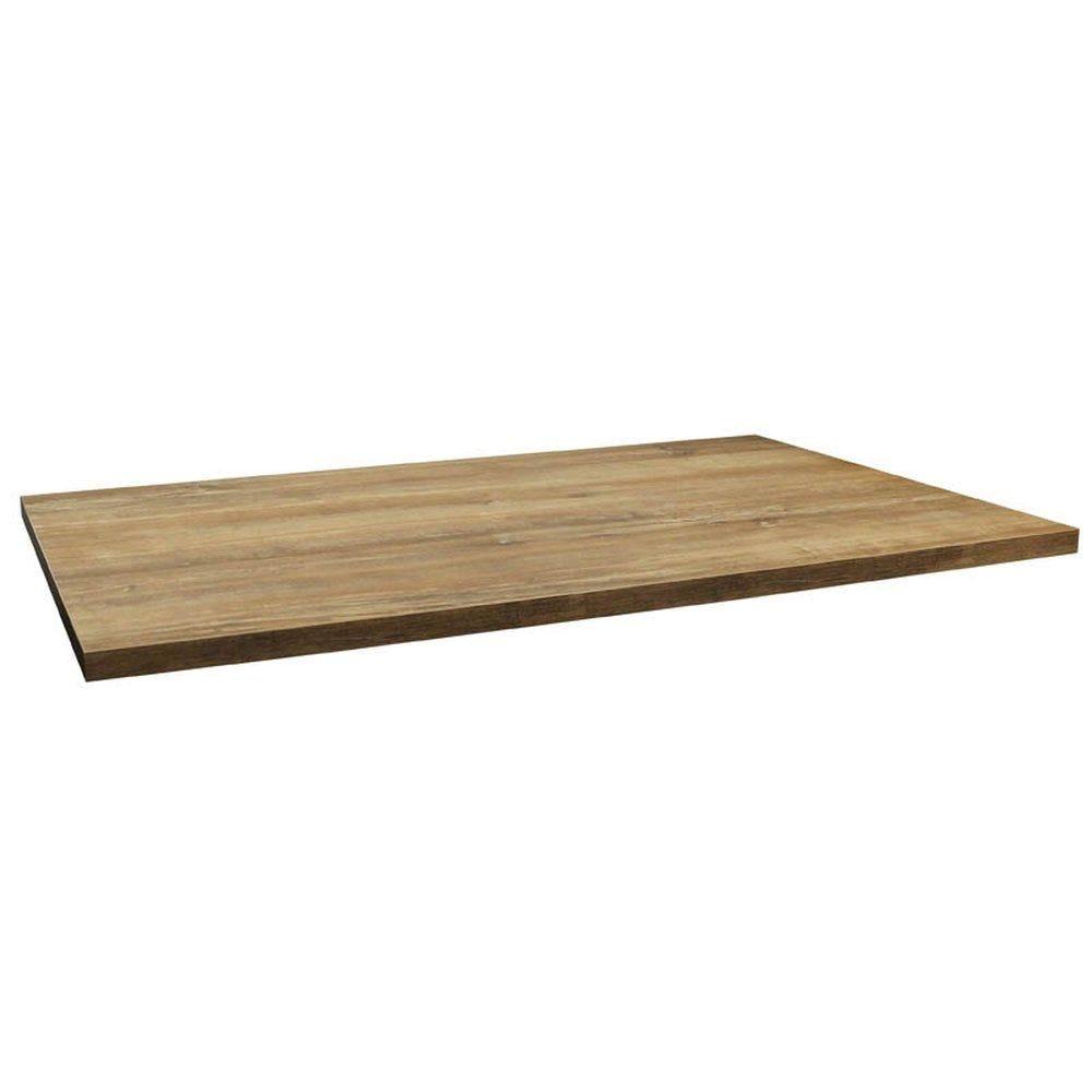 Plateau de table tavola 110x70cm chêne slavona