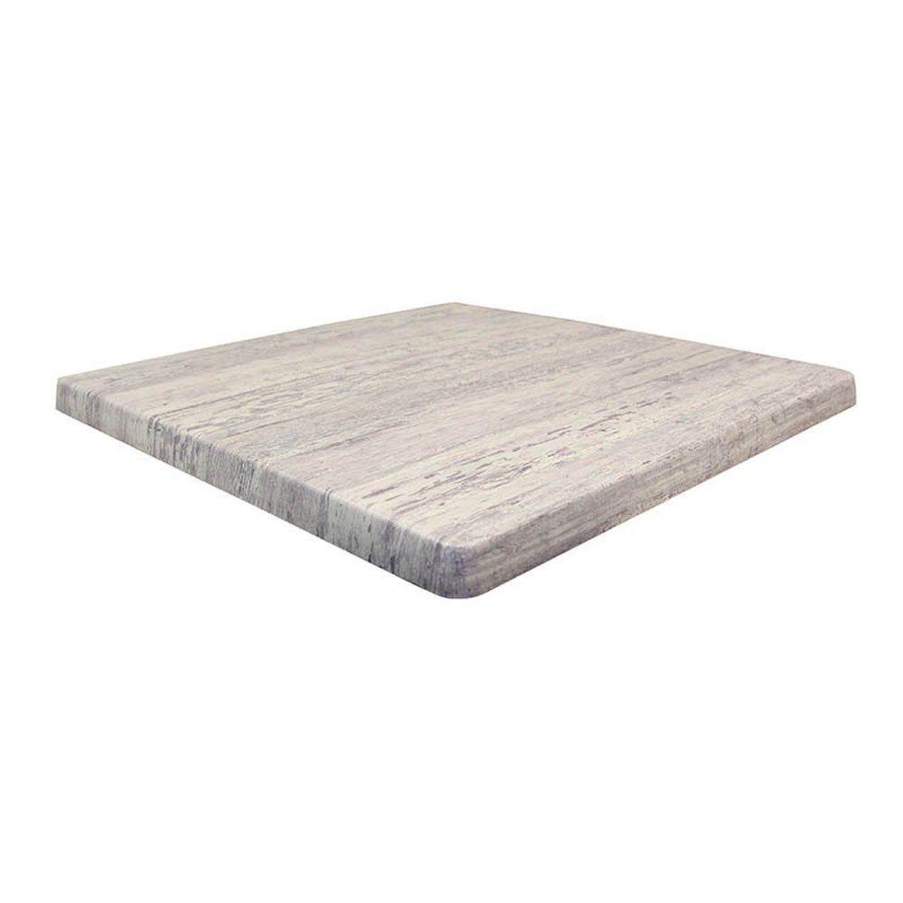 Plateau de table topalit 60x60cm vintage