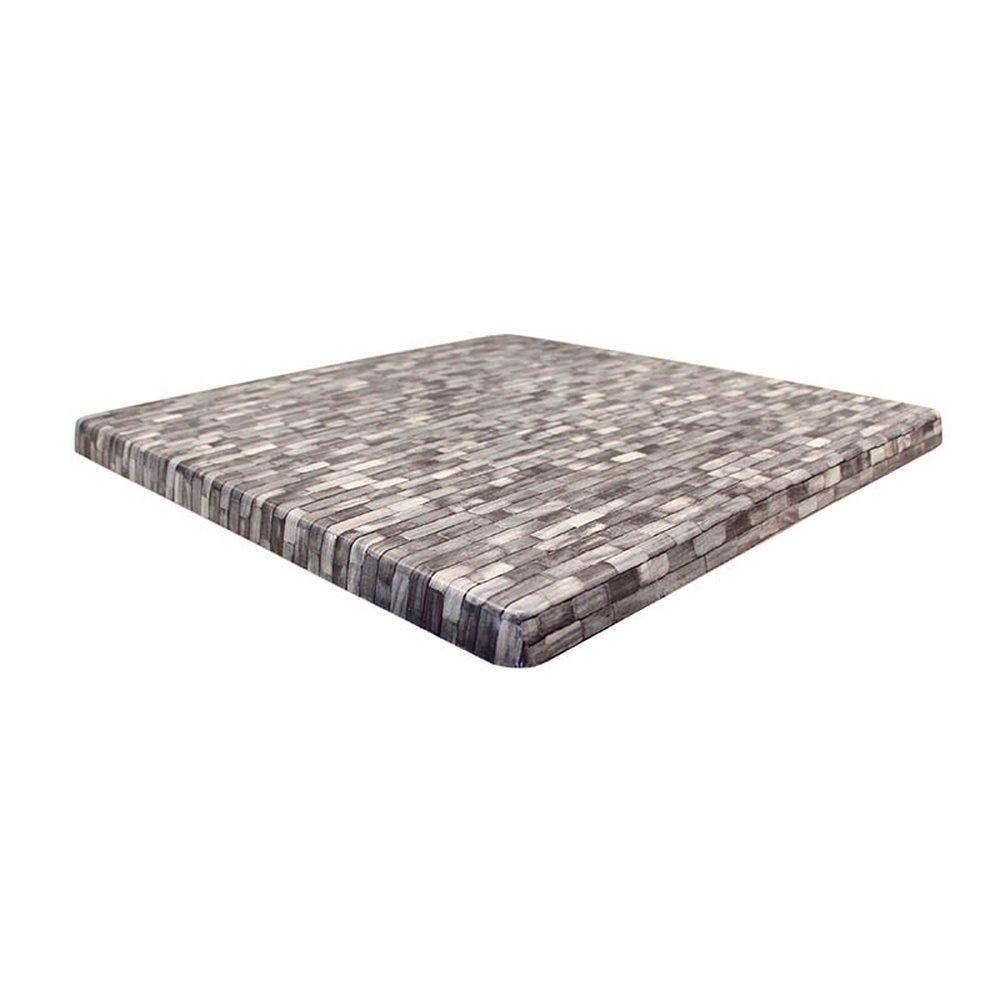 Plateau de table topalit 60x60cm everglade