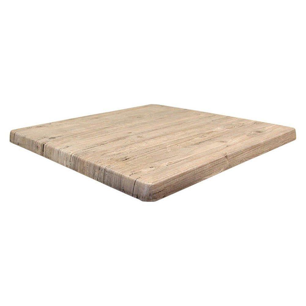 Plateau de table topalit 70x70cm pin Washington
