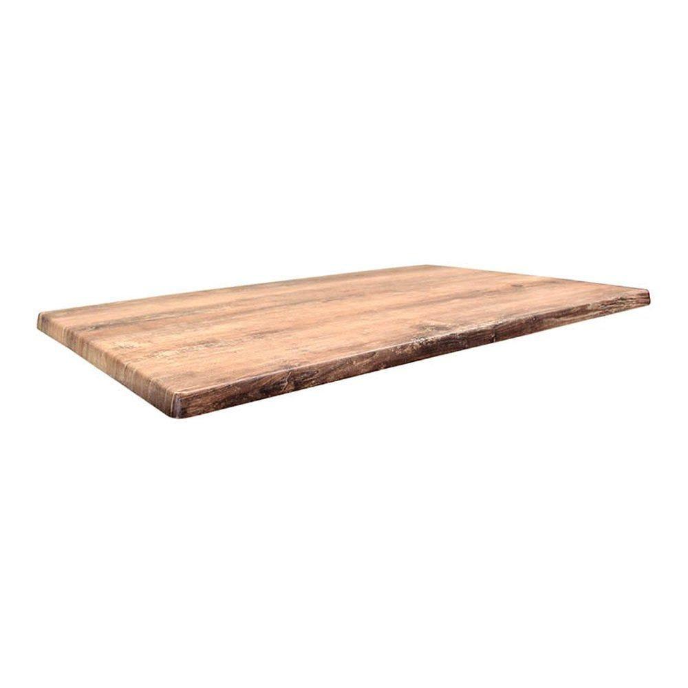 Plateau de table topalit 110x70cm atacama cherry