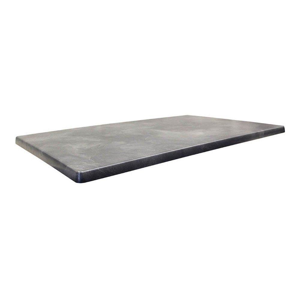 Plateau de table topalit 110x70cm ardoise