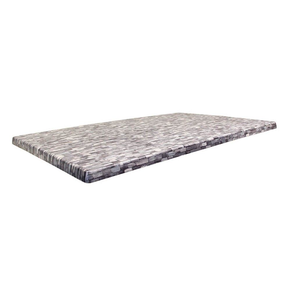 Plateau de table topalit 110x70cm everglade