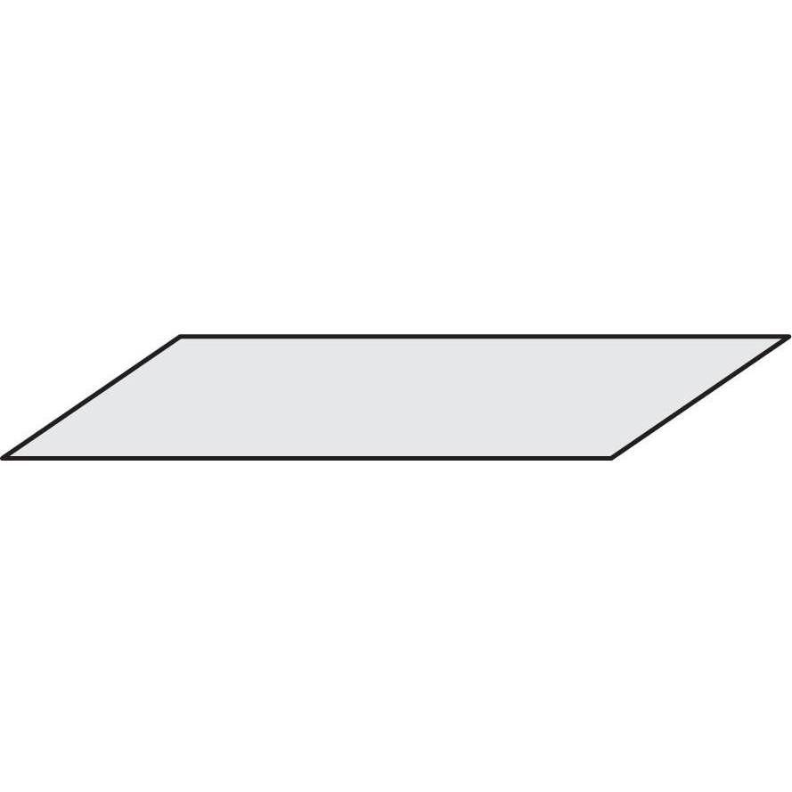 Tablette isorel 125 x 50 cm (photo)