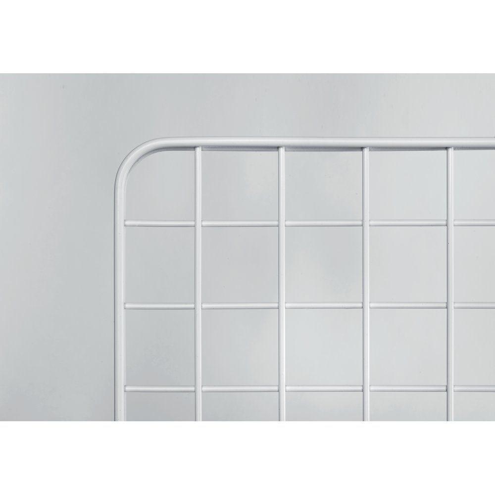 Grille double cadre cadre 100 x 80cm - blanche