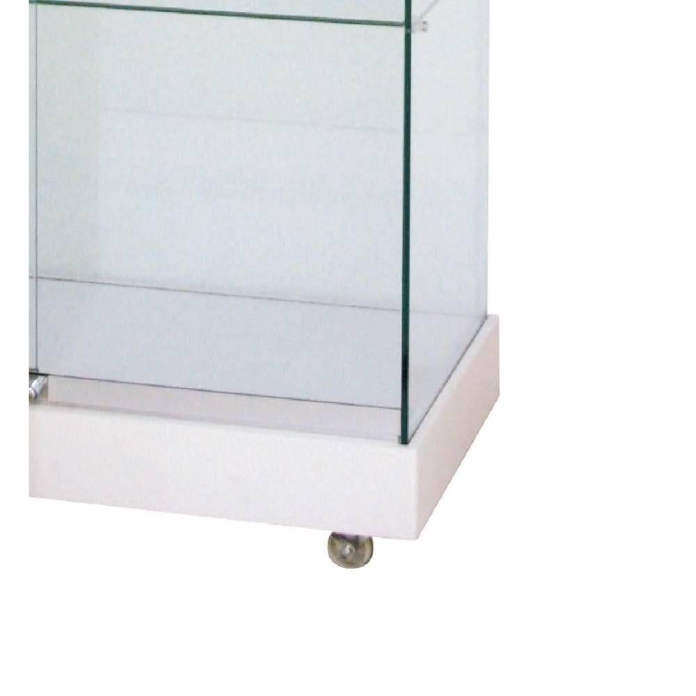 Socle blanc L.90xP.46xH.8 cm par 1 (photo)