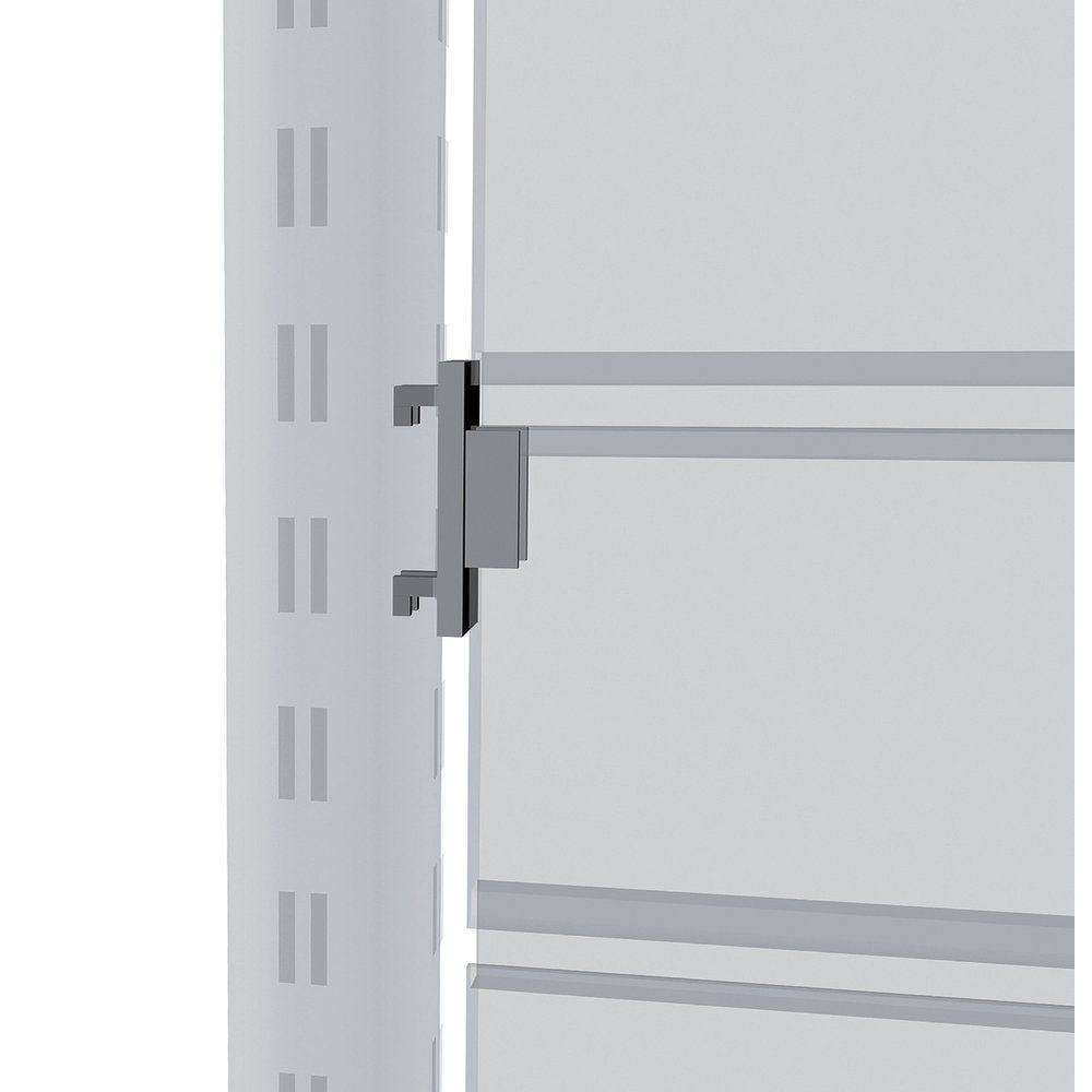 Fixation panneau centrale - gris alu (photo)