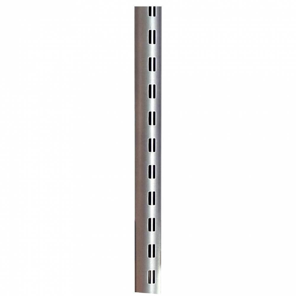 Montant rond Ø 60 mm - long.147,5 cm - gris alu (photo)