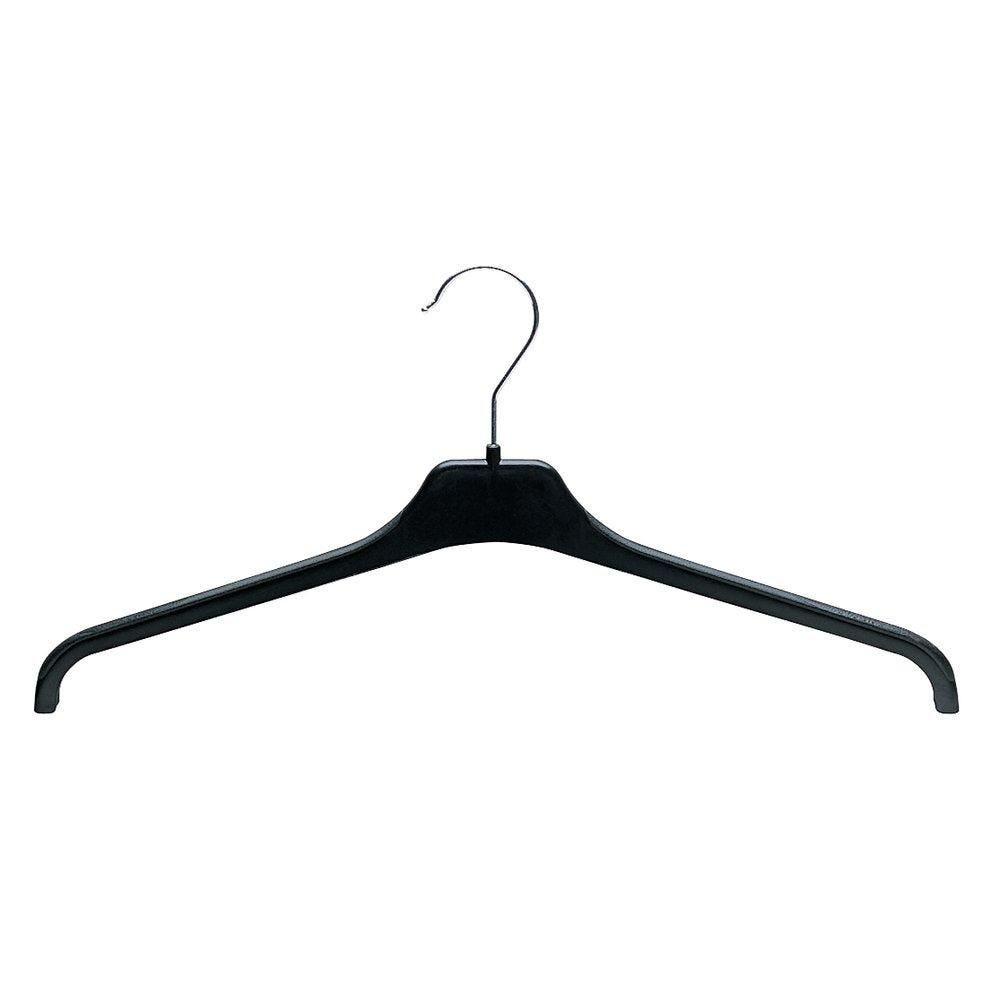 Cintre droit noir 46 cm - par 100 (photo)