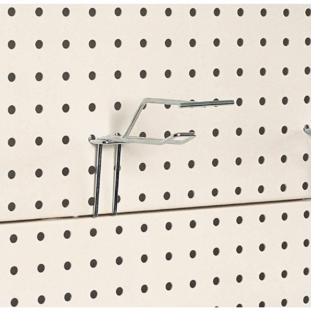 Broche double fil long. 10 cm + tige t - chromée (photo)