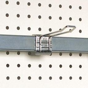 Broche double long. 30 cm pour barre de charge - par 10 (photo)