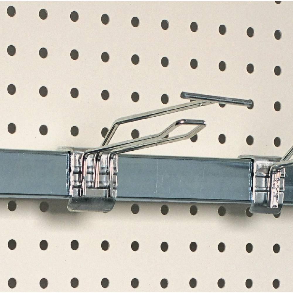 Broche double 20 cm + tige t pour barre de charge - par 20 (photo)