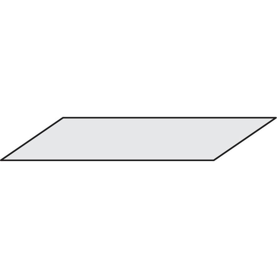 Dessus isorel 125 x 40 cm (photo)