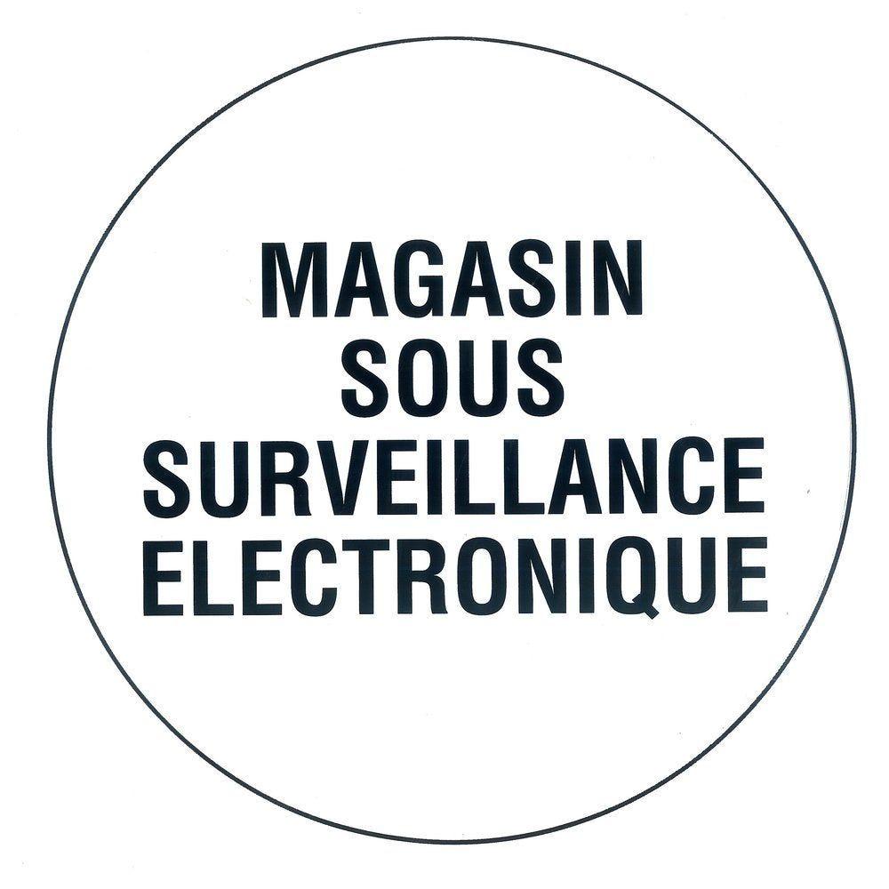 Pictogramme Magasin sous vidéo surveillance (photo)