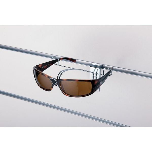 Présentoir lunettes pour fond rainuré (photo)