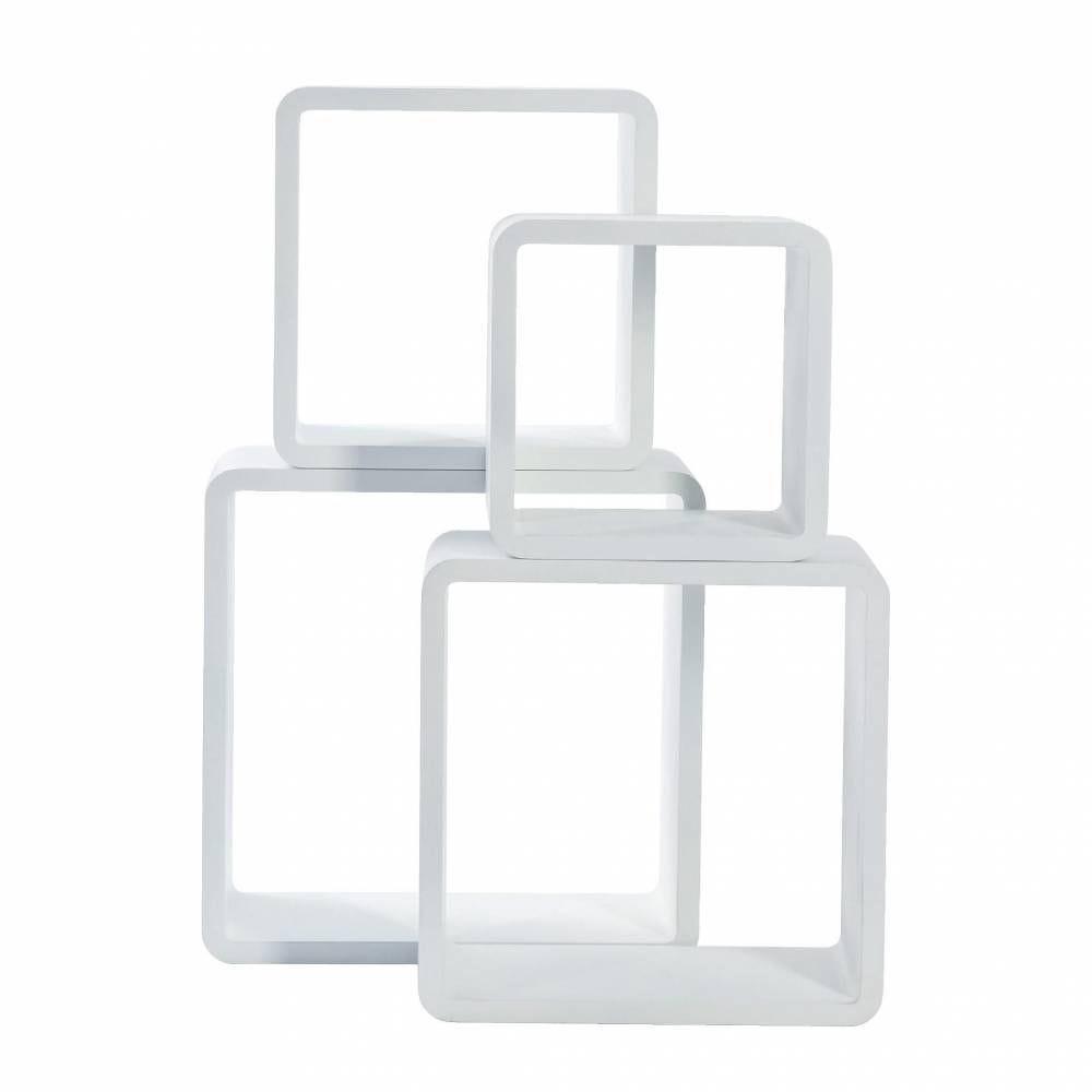 Set de 4 carrés - blanc (photo)