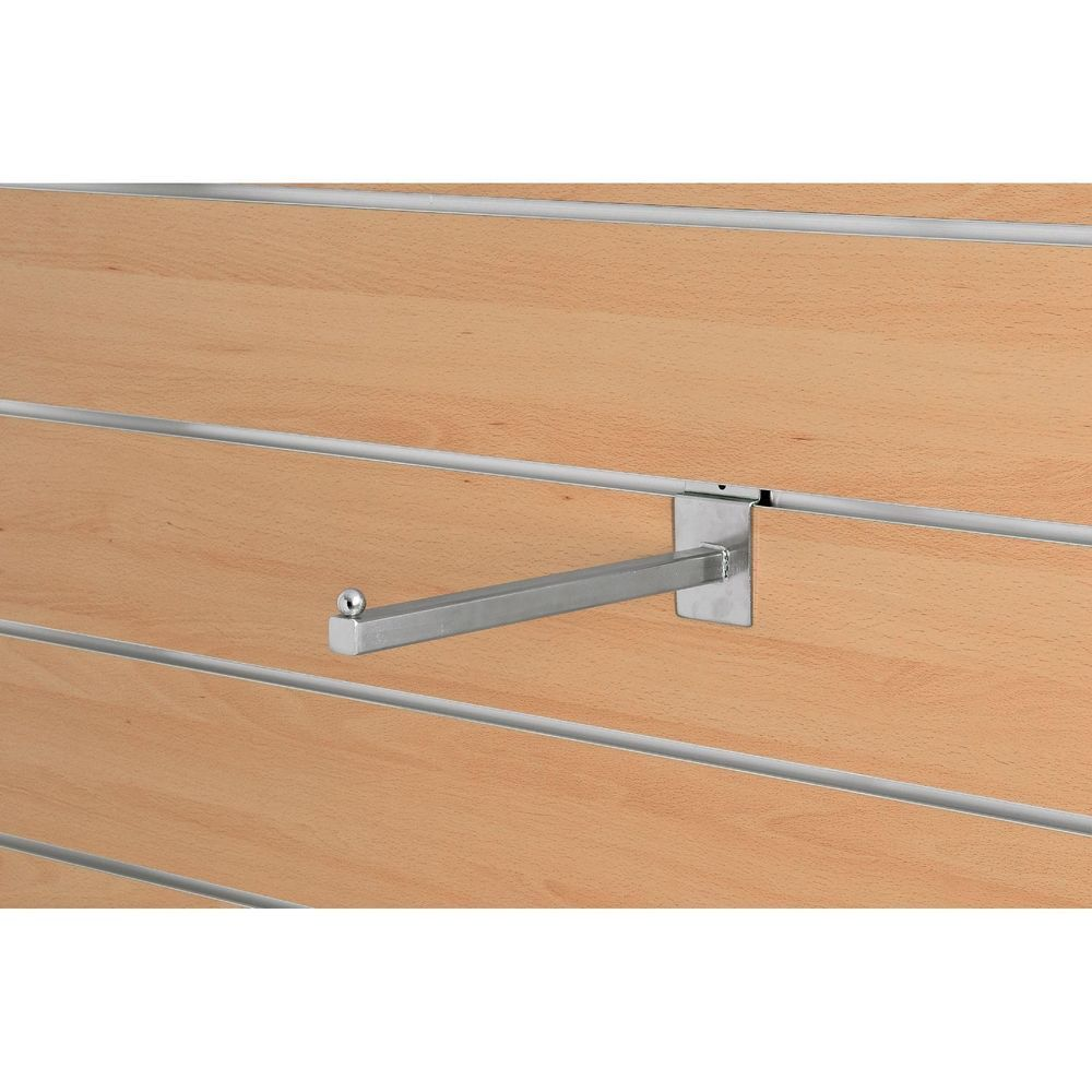 Bras droit - 30 cm - chromé - carré 18 mm (photo)