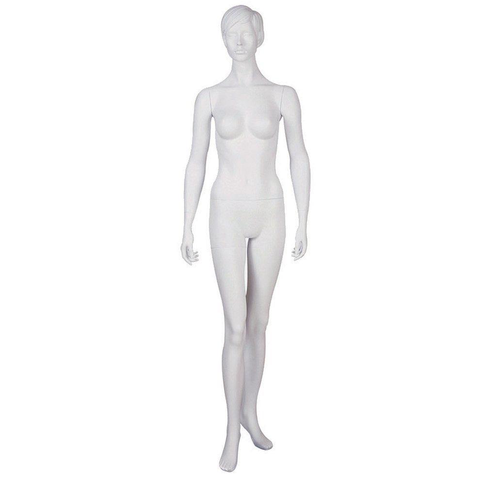 Mannequin vitrine femme blanc (photo)
