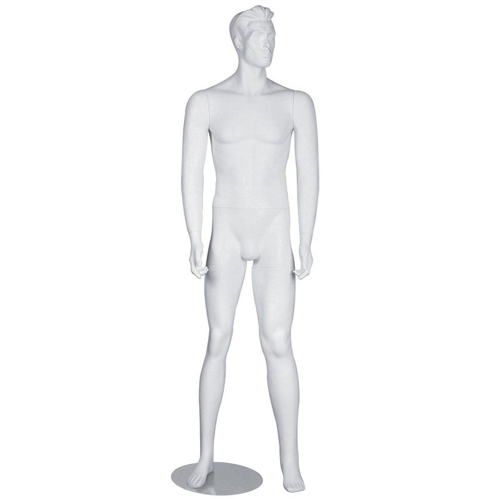 Mannequin vitrine homme blanc (photo)